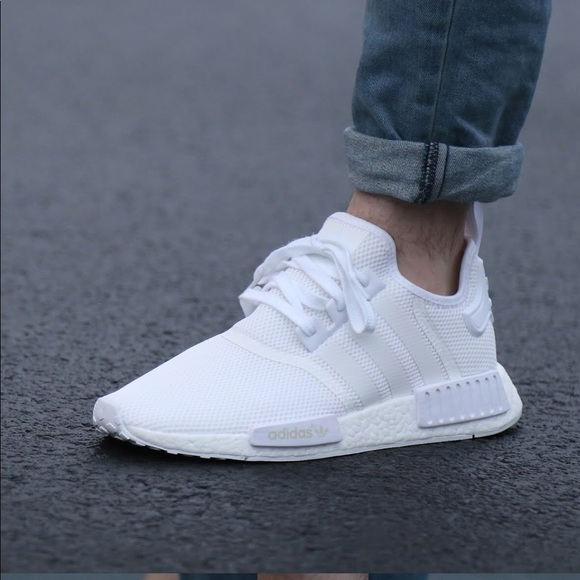"adidas Other - Adidas NMD R1 ""Triple White"" Shoes c6717dad9"